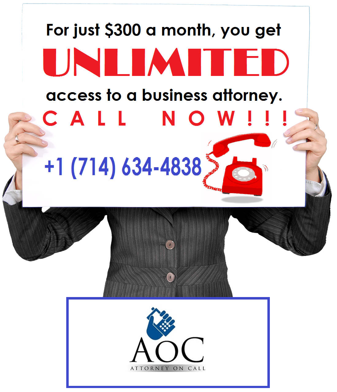 Click to Subscribe to our Attorney on Call Program today!